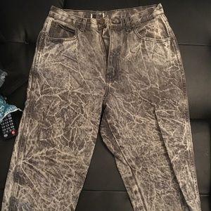 Denim - Acid Wash Mom jeans